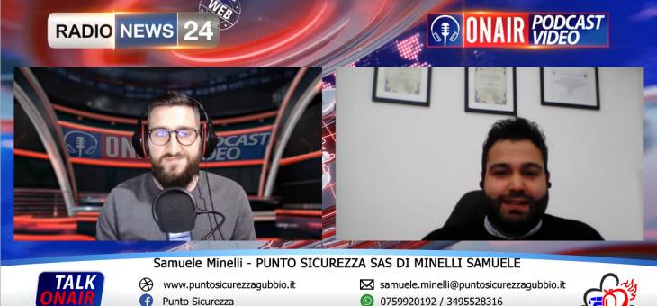 SI PARLA DI SICUREZZA SUL LAVORO – INTERVISTA A RADIONEWS 24 ONAIR